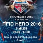 งานแสดงนวัตกรรมเทคโนโลยี RFID Hero 2016