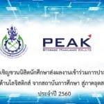"""[กิจกรรม] ขอเชิญชวนนิสิตนักศึกษาส่งผลงานเข้าร่วมการประกวด """"นวัตกรรมด้านโลจิสติกส์ จากสถาบันการศึกษา สู่ภาคอุตสาหกรรมไทย"""" ประจำปี 2560"""