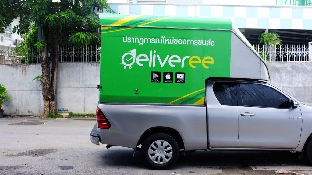 [แอปพลิเคชั่น] Deliveree บริการส่งของต่างจังหวัดราคาเหมาจ่าย ตอบโจทย์โลจิสติกส์ของธุรกิจและผู้ประกอบการ