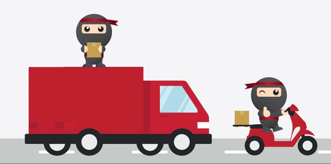 มารู้จัก นินจาแวน (Ninja Van)บริการจัดส่งพัสดุง่ายแค่ปลายนิ้ว ภายใน 90 นาที