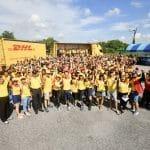 ดีเอชแอล เอ๊กซ์เพรส (dhl express) ประเทศไทยฉลองครบรอบ 10 ปีวันดีเอชแอลอาสา