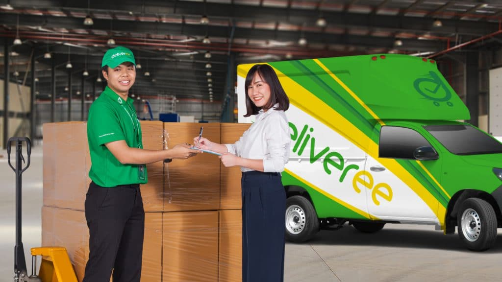 Deliveree เปิดให้บริการขนส่งสินค้าผ่านแอปในชลบุรีแล้ววันนี้