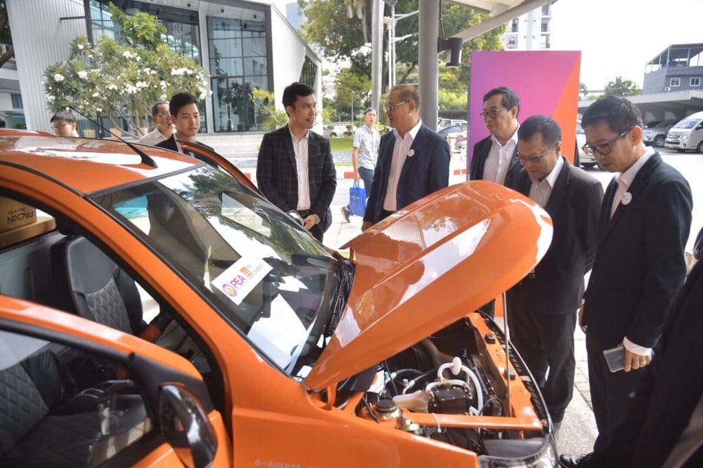 เคอรี่ สยามซีพอร์ต ร่วมมือ การไฟฟ้าส่วนภูมิภาค สนับสนุนการใช้รถยนต์ไฟฟ้าจากพลังงานแสงอาทิตย์