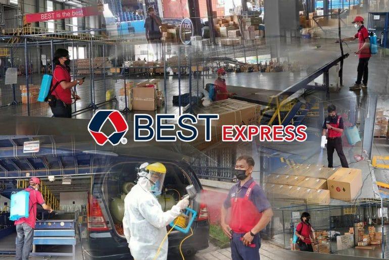 BEST Express บริการขนส่งพัสดุปลอดภัยห่างไกลโควิด กับบริการBEST2DBooking (เบสท์ ทู ดอร์ บุ๊คกิ้ง)