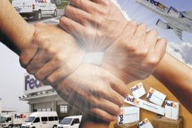 เฟดเอ็กซ์ช่วยเหลือผู้ประสบอุทกภัยในจังหวัดเหอหนาน สาธารณรัฐประชาชนจีน