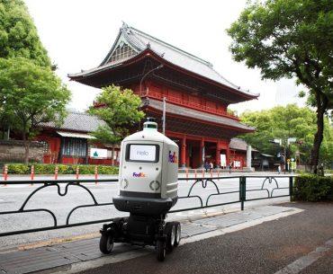 อนาคตของโลจิสติกส์มาถึงเอเชียแล้ว ในงานเปิดตัวหุ่นยนต์ขนส่ง Roxo SameDay Bot จากเฟดเอ็กซ์ครั้งแรกในเอเชีย